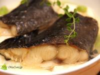 原汁原味~鱈魚蒸豆腐 (烤箱版)