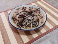 黑木耳炒豆芽