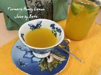 薑黃蜂蜜檸檬汁