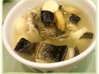 """蒜香鰻魚湯(""""潤肺抗老+降脂殺菌"""")"""