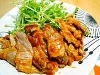 十分鐘快速料理-薑燒豬肉