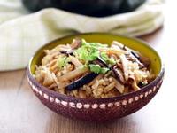 [大同電鍋] 竹筍菜脯炊飯