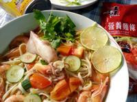 海鮮咖哩蔬菜湯麵『牛頭牌咖哩新食代』
