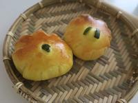 南瓜卡士達麵包