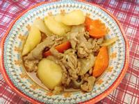 馬鈴薯燉梅花豬肉 (紅蘿蔔無腥味版)