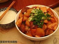 蘿蔔鮮筍燒麵輪