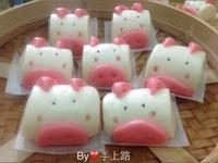 豬造型鮮奶饅頭(壓麵機)