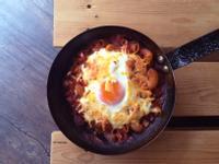 焗烤番茄洋蔥起司通心粉 / 奶蛋素