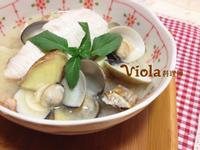 日式味噌海鱺蛤蠣湯