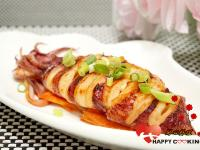 中秋烤肉~韓式辣烤小卷