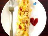 日安YEN - 起司玉米蛋餅