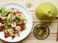 泰式涼拌酸辣柚子鮮蝦 -好東西購物網