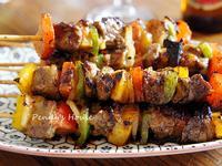 骰子牛肉串+鳳梨大蒜烤肉醬-好東西購物網