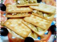蕃薯蛋沙拉夾餅乾(滿分早點×桂冠沙拉)