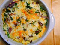 菠菜鮮菇起司烘蛋