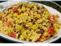 紅薏仁玉米番茄炒蛋