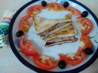 芋泥桂冠沙拉三明治(滿分早點×桂冠沙拉)