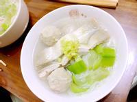 虱目魚蝦丸麵線