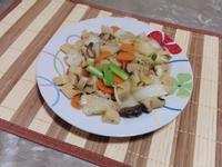 XO醬炒白菜杏鮑菇