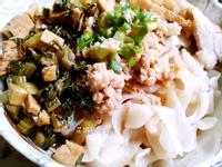 雪菜乾拌麵