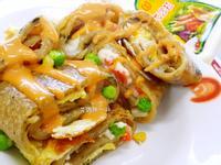 海苔蔬菜沙拉蛋餅滿分早點X桂冠沙拉
