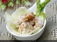 胡麻醬蝦仁沙拉
