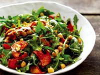 《自然好食小廚房》烤冬季蔬菜和芝麻菜沙拉