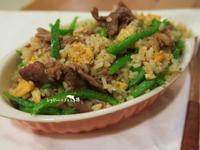 青椒肉片炒飯