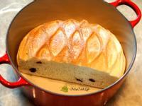 蔓越莓巨蛋麵包 ~ 鑄鐵鍋版