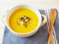 秋天的香濃南瓜湯