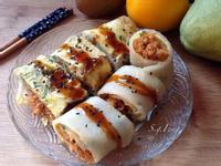 肉鬆蔥蛋餅(古早味-免揉麵糰)