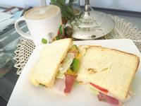 健康培根起司酪梨三明治