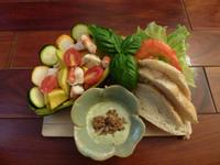 【滿分早點X桂冠沙拉】酪梨鮮蝦雞肉暖沙拉