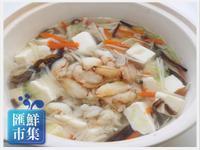 蟹管肉豆腐羹