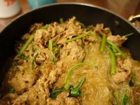 沙茶牛肉粉絲煲