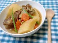 北海道婆婆的馬鈴薯燉肉【電子鍋料理】