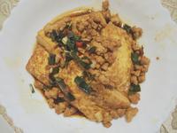 紅燒雞蛋豆腐(有肉版)