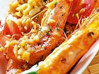 大蒜奶油番茄蝦
