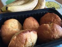 香蕉杯子蛋糕(鬆餅粉、小烤箱)