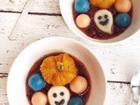[萬聖節]南瓜紅豆湯圓