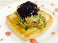 田樂味增納豆燒烤豆腐皮