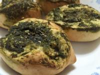 青醬大蒜麵包(麵包機作法)