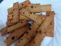 黑糖芝麻餅乾~烘焙華爾滋