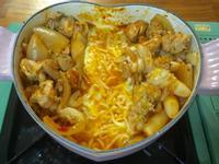 韓式-起司河辣炒雞排