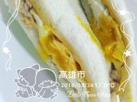 鮪魚起司蛋吐司(兩步驟🔚)