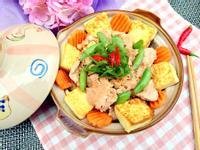 滑嫩肉片豆腐煲【家樂福廚神大賽2015】