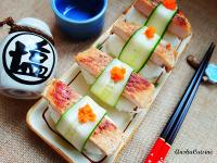 照燒豬排壽司
