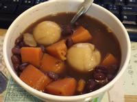 紅豆地瓜薑湯