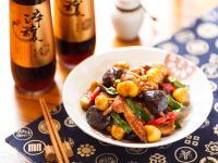 栗子香菇燒雞
