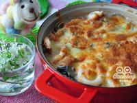 焗烤奶油白菜【大同電烤爐】
